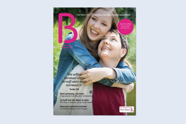 B – magazine van Borstkankervereniging Nederland