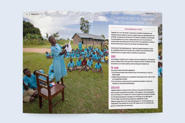 Ongesteld zijn in Uganda: een bloedserieuze zaak